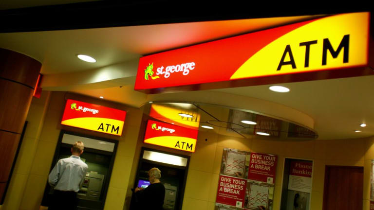 St George Bank, Bank of Melbourne and BankSA have suffered an outage following scheduled maintenance.