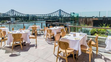 Enjoy lunch with a view on Mother's Day.