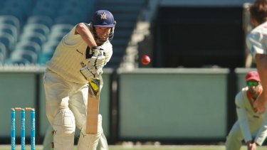 Rob Quiney made an unbeaten 85 in Victoria's second innings.