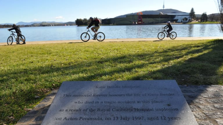 Katie Bender's memorial on Sunday, 17 years after her tragic death.