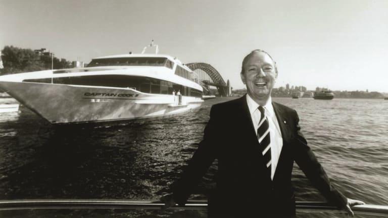Trevor Haworth and Sydney 2000.
