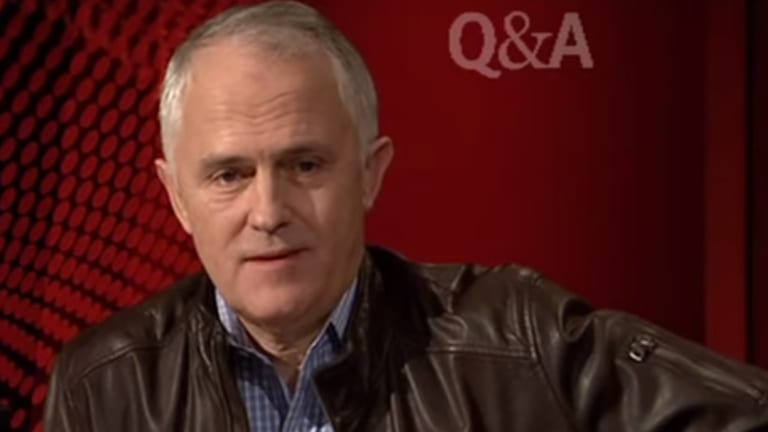 Malcolm Turnbull's leather jacket – iconic or ironic?