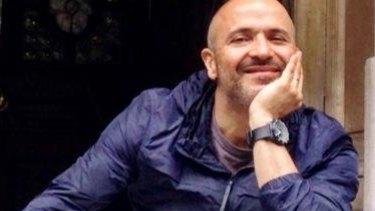Camera operator Louie Eroglu.
