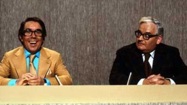 Corbett was best known for his television show <i>The Two Ronnies</i>, co-starring the late Ronnie Barker.