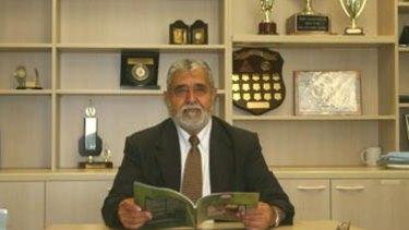 Al-Taqwa headmaster Omar Hallak