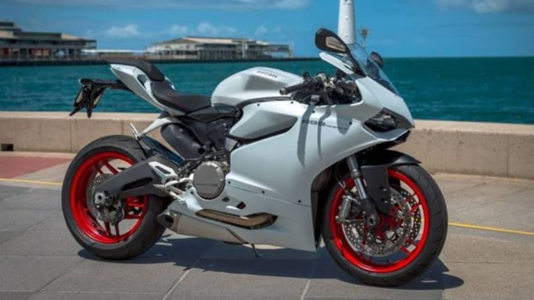 """The Gumtree ad described the bike as """"one of the best, if not THE best-looking bike on the road today''."""