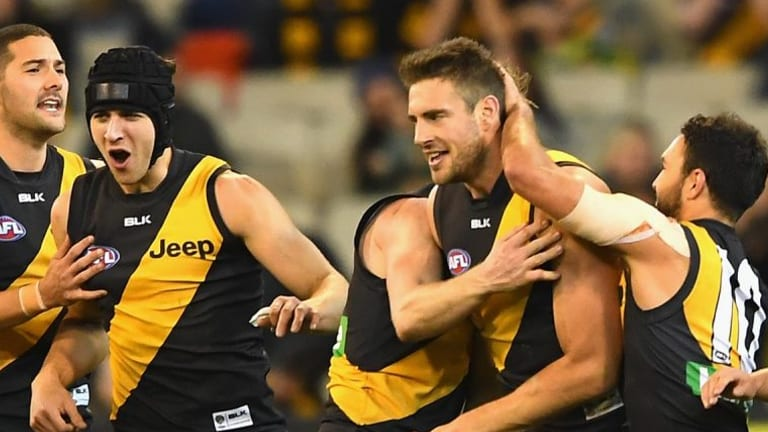 Shaun Hampson has locked down the no.1 ruck spot at the expense of Ivan Maric.