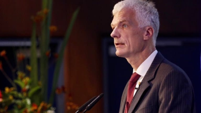 """Andreas Schleicher said that it is """"perhaps too easy to do well in Australia"""" and that the country tends to accept that """"some students will come out less well""""."""