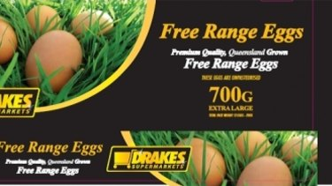Busted: Darling Downs labelled its eggs as free range.