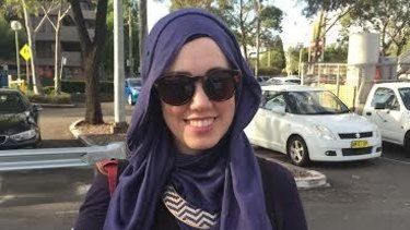 """""""It has become par for the course if you are visibly Muslim"""": Asma Fahmi and her family were attacked in a Sydney CBD car park."""