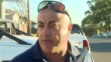 Milad Ayoub allegedly attacked the cyclist.