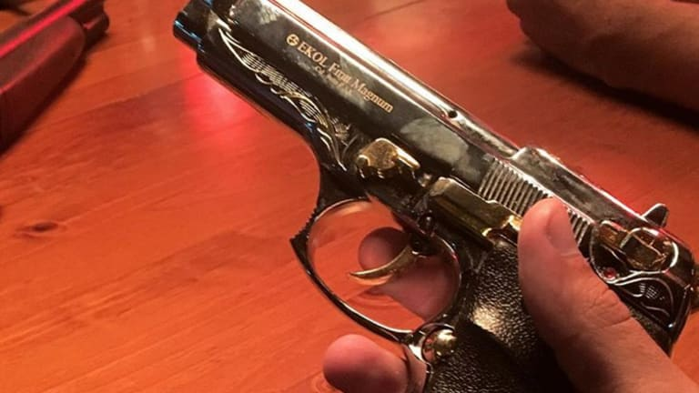 Johann Ofner posted this image of a prop gun before his fatal shooting during filming.