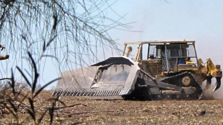 Land-clearing in Queensland continues to soar, reaching almost 400,000 hectares in 2015-16.