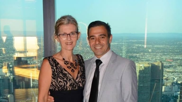 Christine Manning and Ian Ugarte