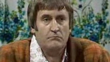 Actor Ross Higgins as Ted Bullpitt in 1980s sitcom 'Kingswood Country'