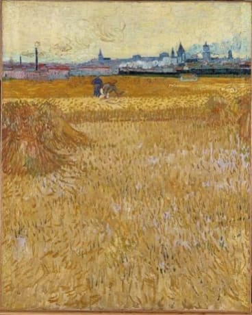 """Vincent Van Gogh's painting """"The Harvesters"""" is tasteless, apparently."""