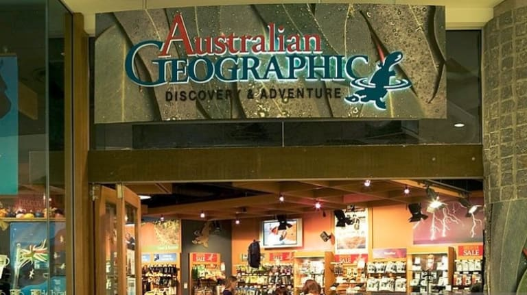 There are 67 Australian Geographic stores around the country.