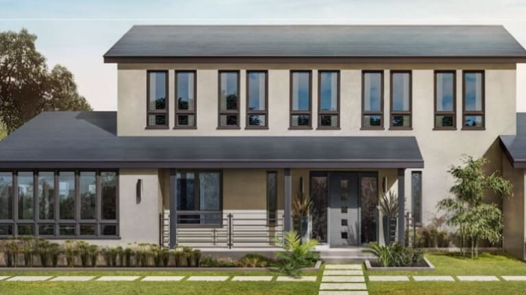 The first installations of Tesla's solar roof will begin in the US in June, other markets such as Australia are targeted for next year.