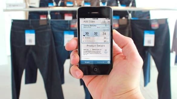 Change rooms go high-tech to reboot clothes shopping