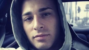 Gay porn star Teofil Brank, also known as Jarec Wentworth, who was convicted of extortion.