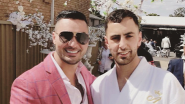 Salim Mehajer and Ahmed Jaghbir, who was recently named director and secretary of the Mehajer wedding business venture.
