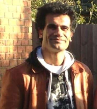 Iranian Kurdish asylum seeker Fazel Chegeni. The body of Fazel Chegeni was found on Sunday after he escaped from the Christmas Island detention centre on Friday.
