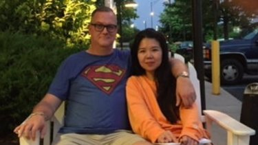 """""""We thought it [the initial raid] was nonsense,"""" says Jiang Ling's husband Jeff Sikkema."""