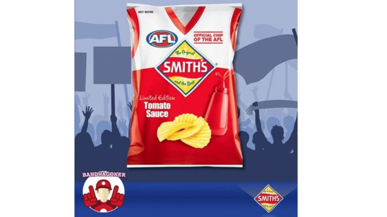 Smith's official AFL chips.