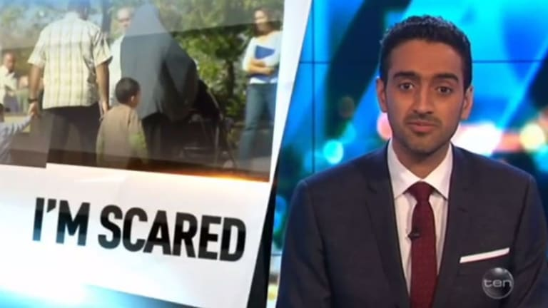 Waleed Aly on The Project this week espousing #forgiveness, which probably won't save you from a suicidal truck driver.