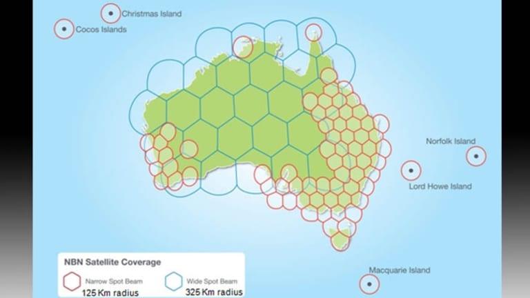 NBN satellite coverage.