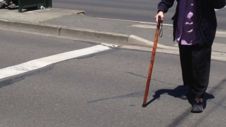 People aged 65 and over account for 39 per cent of pedestrian fatalities.