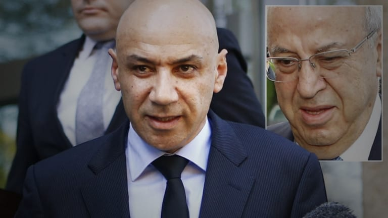 Eddie Obeid (inset) and Moses Obeid.