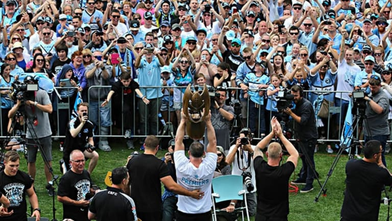Money can't buy everything: The Sharks proved that you don't need to spend a lot of money to win the NRL premiership.