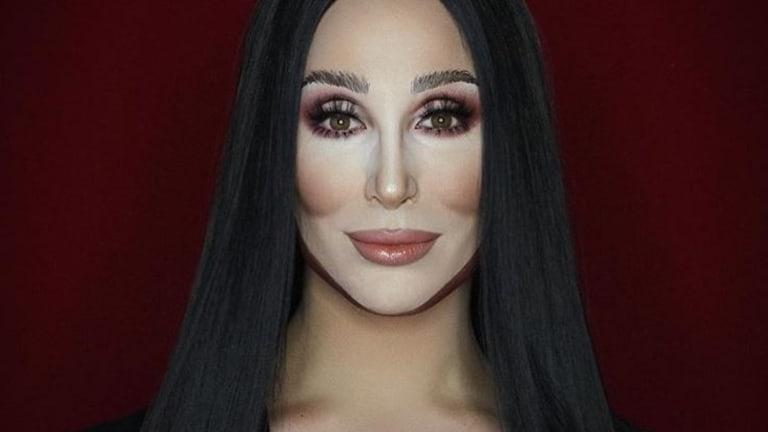 Makeup artist Alexis Stone as Cher.