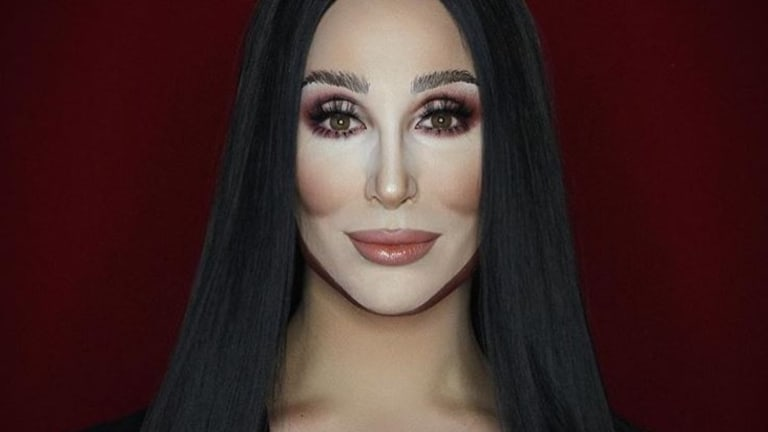 Makeup artist Alexis Stone as Cher.