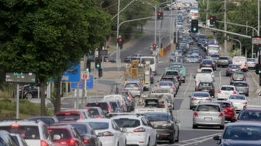 Just 35 per cent of Melburnians travel to work on public transport.