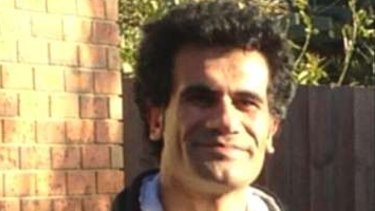 Iranian Kurd Fazel Chegeni, who died on Christmas Island.
