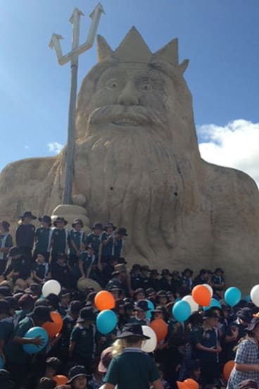 Two Rocks Primary School students have even taken on the iconic King Neptune as their emblem