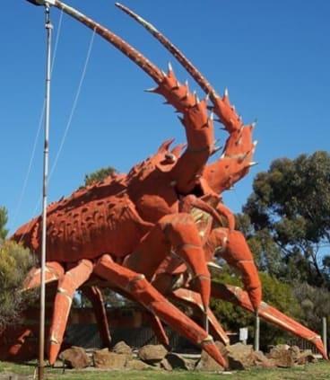 The Big Lobster in Kingston, South Australia.