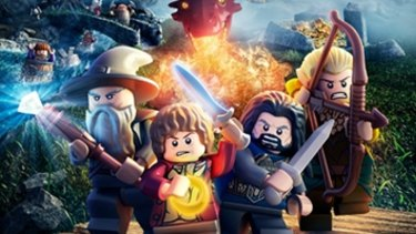 A Lego set linked to the movie of The Hobbit.