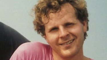 Scott Johnson, about four months before he fell to his death from  Sydney's North Head.