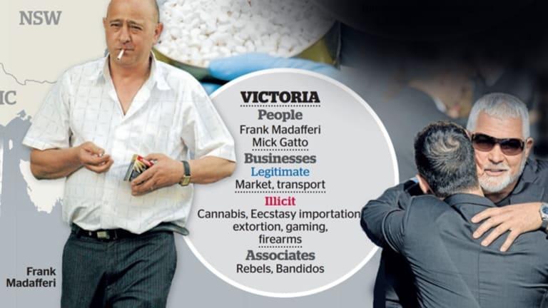 The Mafia's reach in Victoria.
