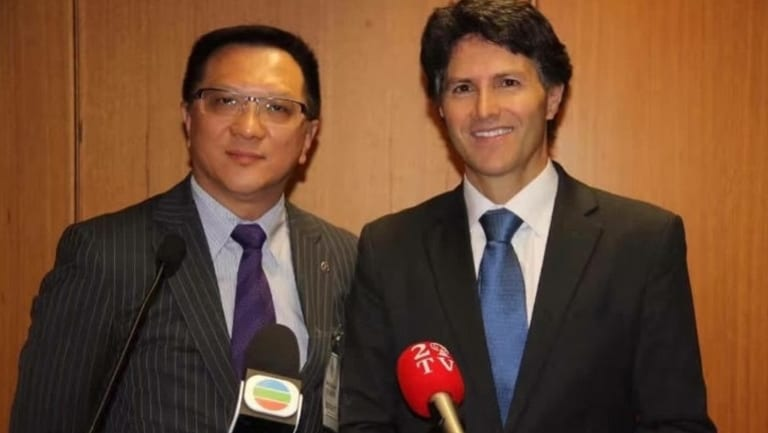 Anthony Ching (left) will run because he wants Chinese representation on council.