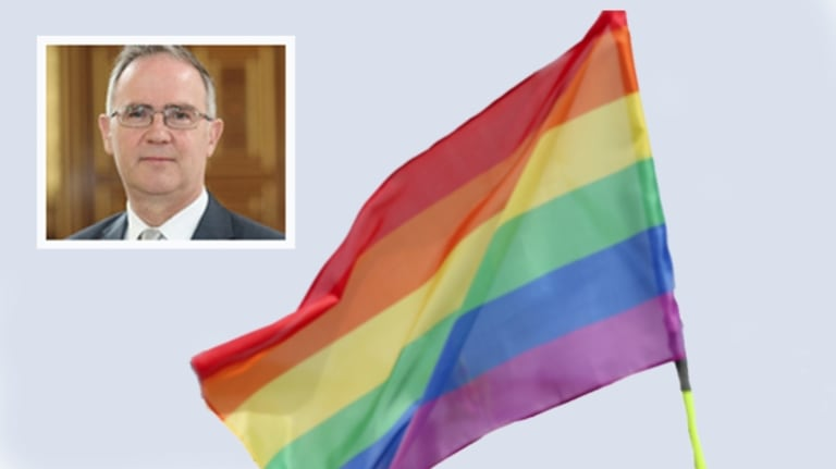 Bermuda Governor John Rankin (inset) has signed into law a bill that reverses an earlier Supreme Court ruling legalising same-sex marriage.