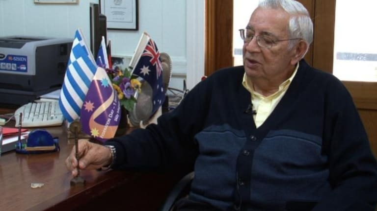 Ethnic Communities Council of Queensland founder Nick Xynias.