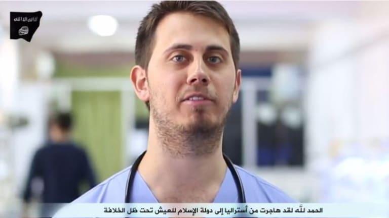 Australian doctor Tareq Kamleh appeared in the same video, spruiking Islamic State's health service.