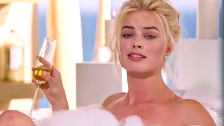 Margot Robbie in <i>The Big Short</i>.