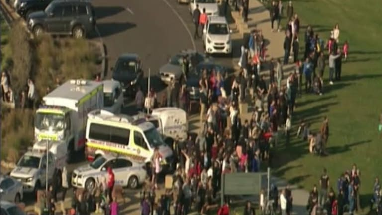 Scores of people were at La Perouse enjoying a sunny Sunday afternoon when the accident occurred.