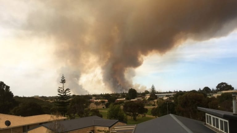 An emergency warning has been issued again for parts of Esperance