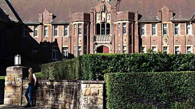 Sydney University's 99-year-old Wesley College.